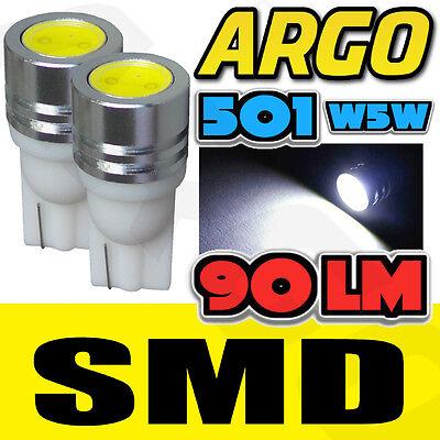 1 SMD LED XENON WHITE 501 T10 W5W SIDELIGHT BULBS VOLKSWAGEN VW TRANSPORTER VAN