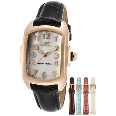 INVICTA Women's 13835 Lupah Special Edition MOP Dial Changeable Watch Set $695