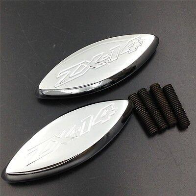 (Mirror Block Off Base Plates For 06-14 09  Kawasaki Ninja ZX-14 ZX-14R ZX1400)