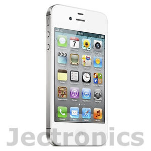 New Open Box Apple iPhone 4S 16GB White Smartphone MD277LL/A - *ESN IS BAD*
