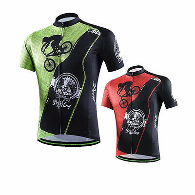 CHEJI Devil Cycling Gear Bicycle Shirt Jersey Men