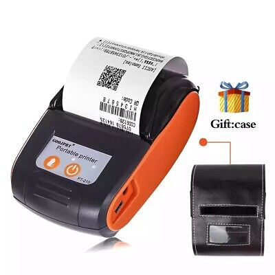 Portable Bluetooth Wireless Thermal Label Receipt Ticket Bill Printer Pos 58mm