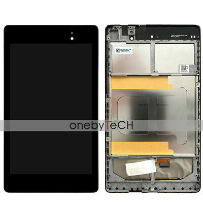 ASUS Google Nexus 7 2nd Gen 2013 ME571K LCD Display Touch Screen Assembly+Frame