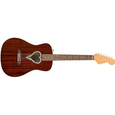 Fender Alkaline Trio Malibu™ Acoustic Guitar - Natural  Demo Gently Used