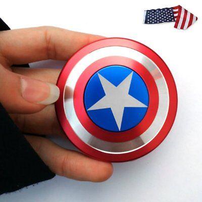 US Ship Fidget Finger Spinner American Captain Fast Bearing Fidget Hand