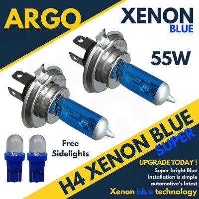 H4 Xenon Ice Blue 55w 472 Headlight Bulbs Kawasaki Zx-7r 750 P (Zx750p)