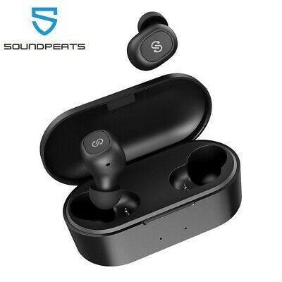 SoundPEATS TWS Bluetooth 5.0 Headset True Wireless Headphones Earbuds Earphones