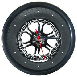 New Nitto Car Logo Sign Wheel Tire Design Round Wall Clock