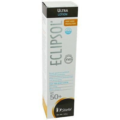ECLIPSOL Ultra Lotion Broad Spectrum SPF 50 Very High Protection Face/Hands 4 oz