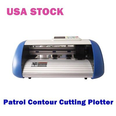 Us-12 Full-auto Multi-page Intelligent Plotter Patrol Contour Cutting Plotter