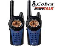 Cobra MT975-2 VP UK walkie talkies 12KM range 8 channel