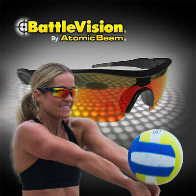 New (2 PCS) BattleVision HD Polarized Sunglasses Clear Vision As seen on Tv (Polarised Vision)