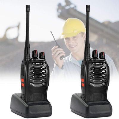 2Pcs Baofeng BF-888s 5W UHF 400-470MHz CTCSS DCS Two-way Ham Radio WALKIE TALKIE