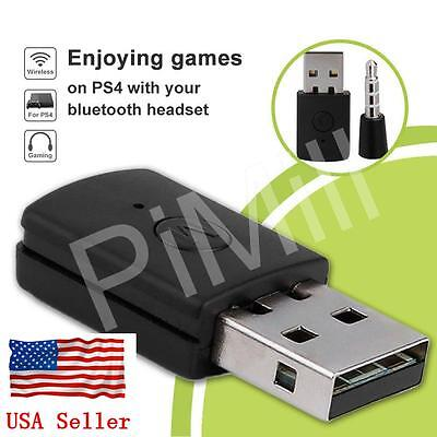 Mini Version Bluetooth Dongle USB Adapter for PS4 Any Bluetooth Headset US Stock