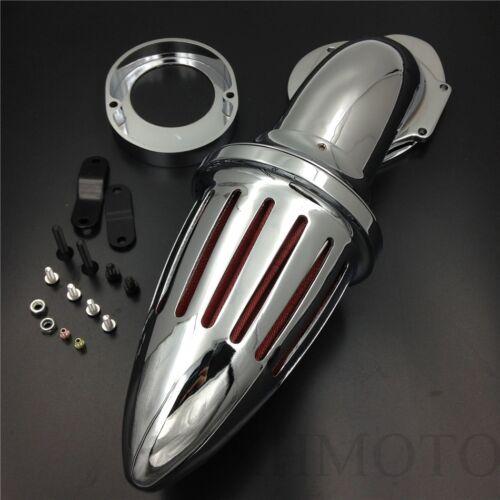 For Yamaha Vstar V-Star 650 all year 1986-2012 CHROME Air Cleaner intake filter