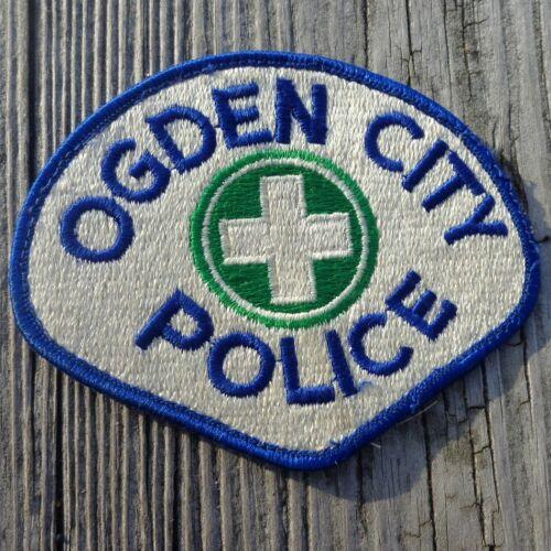 "Ogden City Police 3.75"" UT Utah Heavy Patch"