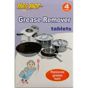 Mrs Mop Grease Remover Kitchen Utensils Cleaning Shine Cleaner Stainless Steel Ebay