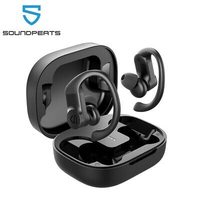 SoundPEATS True Wireless Earbuds Over-Ear Hooks Bluetooth Stereo Earphones IPX7