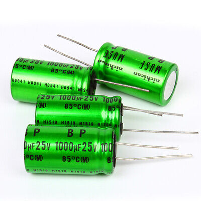 10pcs Nichicon 1000uf25v High-end Muse Es Bp Audio Electrolytic Capacitor