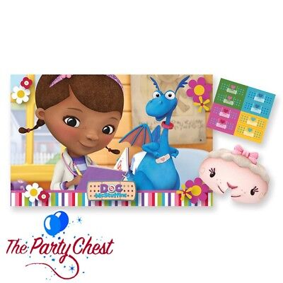 DOC MCSTUFFINS PARTY GAME Stick the Plaster Classic Birthday Party Fun 996909