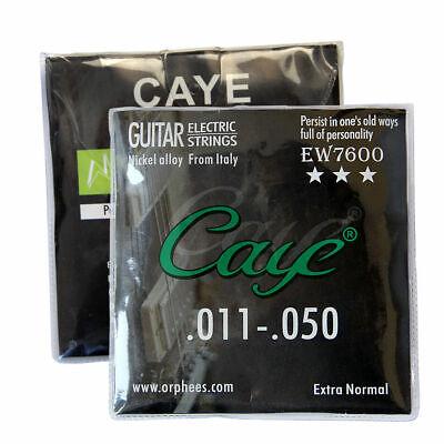 5 Sets Orphee EW7600 Nickel Alloy Electric Guitar Strings String Medium 011-050