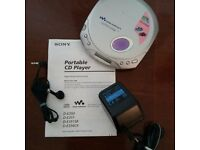 Sony Walkman. Portable CD player in perfect condition