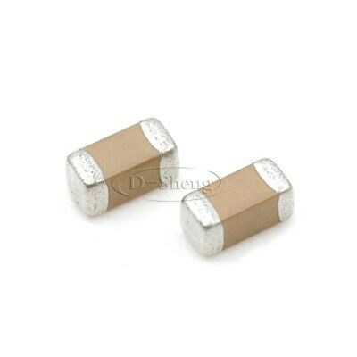 50pcs Smdsmt 1206 Capacitors 104k 100nf 0.1uf 500v X7r 10 Ceramic Capacitors