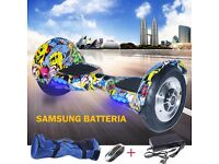 "COOL&FUN Hoverboard SAMSUNG Battery FREE BAG Self Balancing Scooter 10"" Black as swegway board"