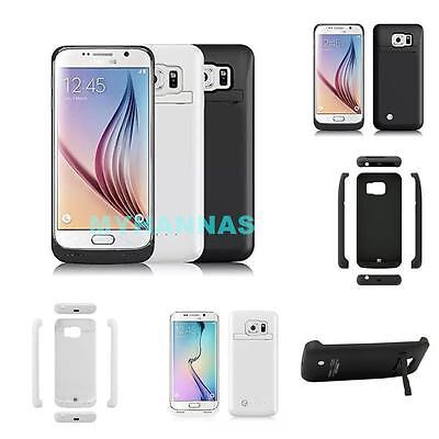 Samsung Galaxy S6/S6 Edge Plus Extended Battery Power Charger Case Juice Cover