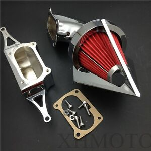 Spike Air Cleaner Kits For 2002-2010 Yamaha Roadstar Midnight Warrior Chrome
