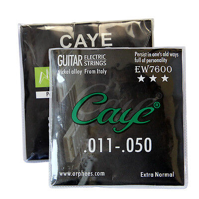 10 Sets Orphee EW7600 Nickel Alloy Electric Guitar Strings String Medium 011-050