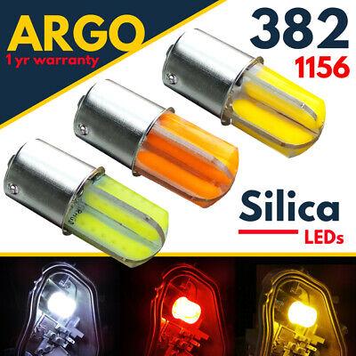 Ba15s Reverse 1156 382 P21w Led White Indicator Red Amber Brake Light Cob Bulbs