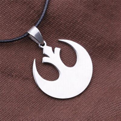 UK Seller Star Wars Skywalker Movie Rebel Jedi Necklace Pendant Charm