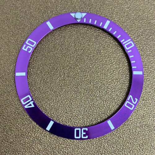 38mm Diver Watch Bezel Insert Made for Seiko SKX007 SKX009, Cal.7S26 A103