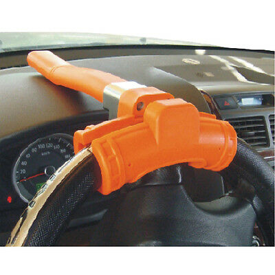 UNIVERSAL HEAVY DUTY CAR WHEEL STEERING LOCK ANTI THEFT SECURITY VAN NEW