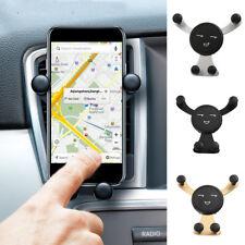 Prise voiture Support téléphone portable gravité GPS Angle réglable universel