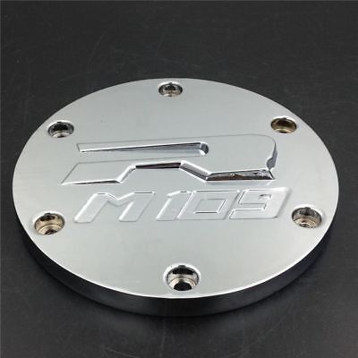 (Chrome Billet Aluminum Derby Covers For Suzuki Boulevard M109R 2006-2013 2011 12)