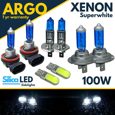 Ford Transit Tourneo 55w ICE Blue Xenon High//Low//Canbus LED Side Headlight Bulbs