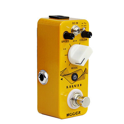 NEW Mooer LIQUID Digital Phaser Guitar Pedal w/ True Bypass