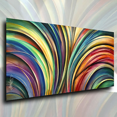 Modern Abstract Art  Michael Lang CONTEMPORARY Painting Giclee Canvas Print (Abstract Modern Art Giclee Canvas)