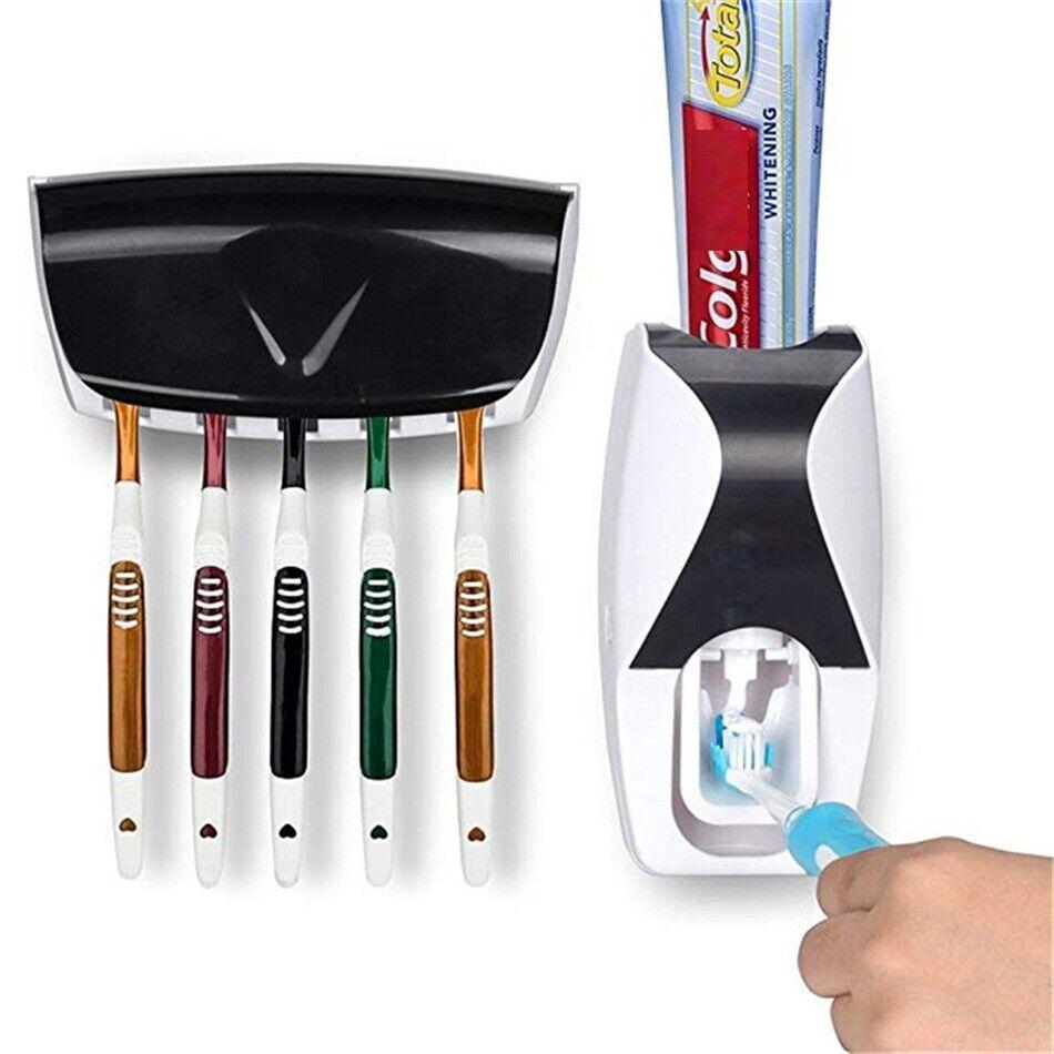 Zahnpastaspender Zahnbürstenhalter  Zahnbürste Halter Spender Saugnapf