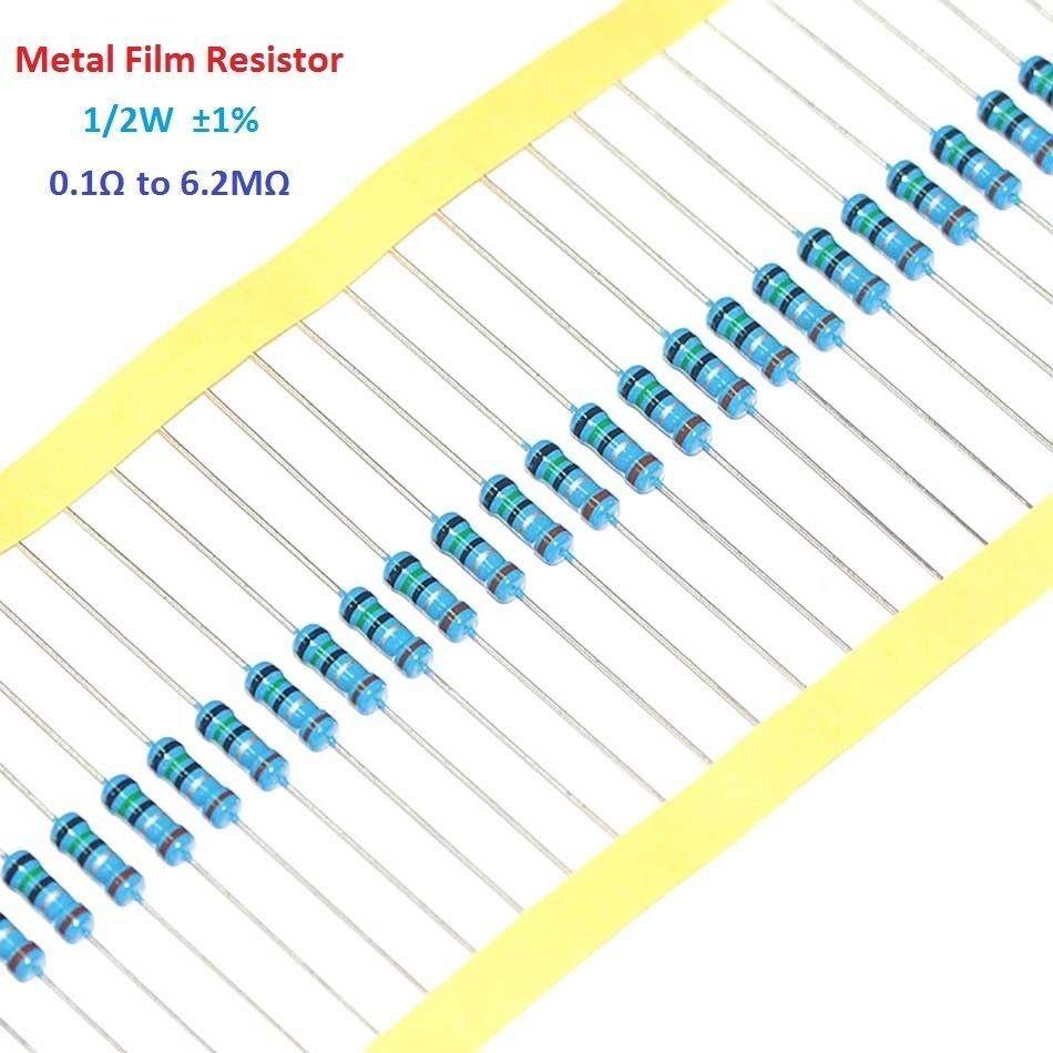 360K resistenze di film metallico 0.5W confezione da 100