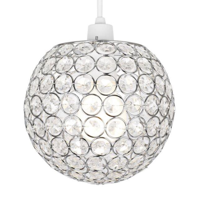 Crystal ball ceiling light shade pendant chandelier acrylic effect modern acrylic crystal ceiling pendant light shade jewel ball chandeliers decor aloadofball Choice Image