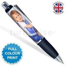 Personalised Custom Stationary Photo Pen Logo Picture | Black