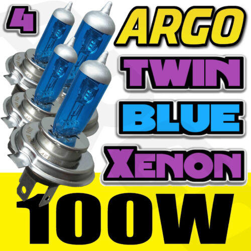 LEXUS LS400 90-9H4 ULTRA POWER XENON ICE BLUE BULBS 472 4 X PACK KIT