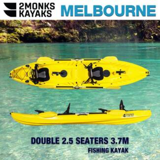 3.7M 2.5 Seaters Family Kayak *2Monks Brand New*
