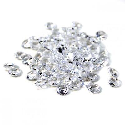 800pc Clear Diamond Table Confetti Wedding Bridal Shower Decor 4 Carat 10mm](Diamond Confetti)