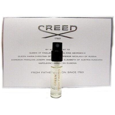 3 x Creed Green Irish Tweed Mini Vial by Creed EDT 2.5 ml / 0.08 oz