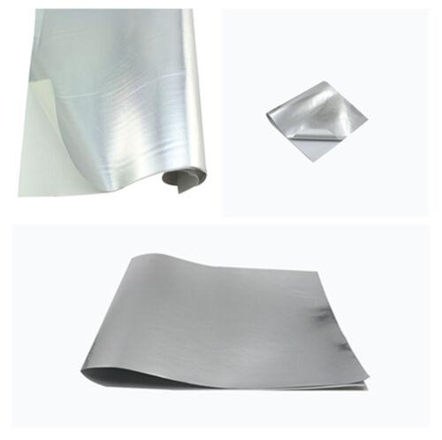 Auto Car Motorcycle Heat Shield Adhesive Backed Aluminum Fiberglass Cloth