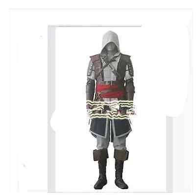 Assassin's Creed 4 Black Flag Kostüm (Assassins Creed 4:Black Flag Edward James Kenway Cosplay Kleidung Outfit Kostüme)